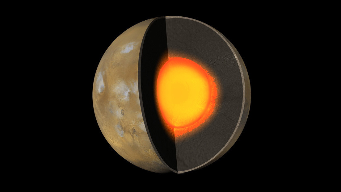 Spazio: il nucleo di Marte è enorme. 'Più del doppio della Terra'