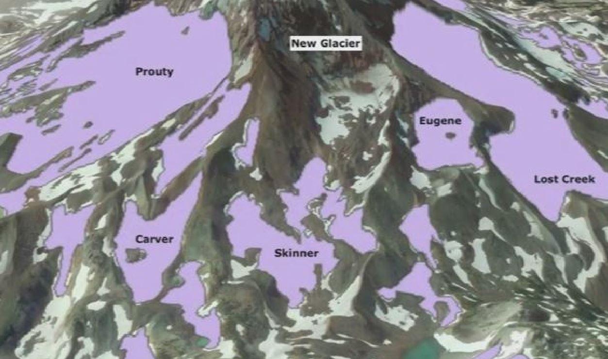 Scoperto un ghiacciaio mai mappato prima sulla South Sister: ecco perchè nessuno lo ha mai notato