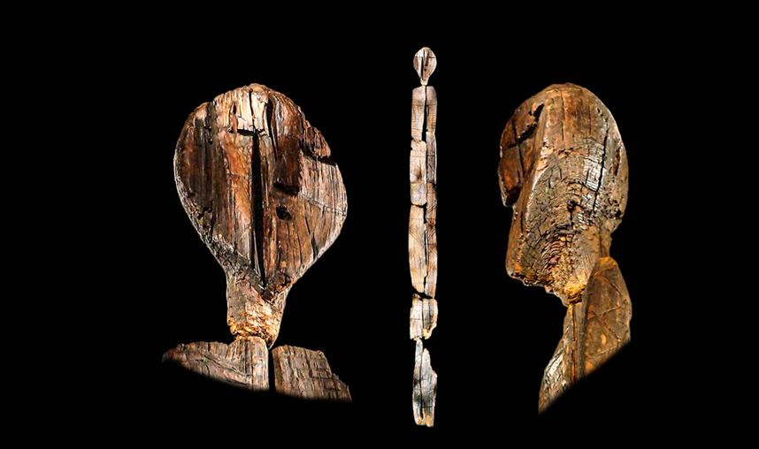 Nuova datazione per idolo Shigir: ha oltre 12.250 anni