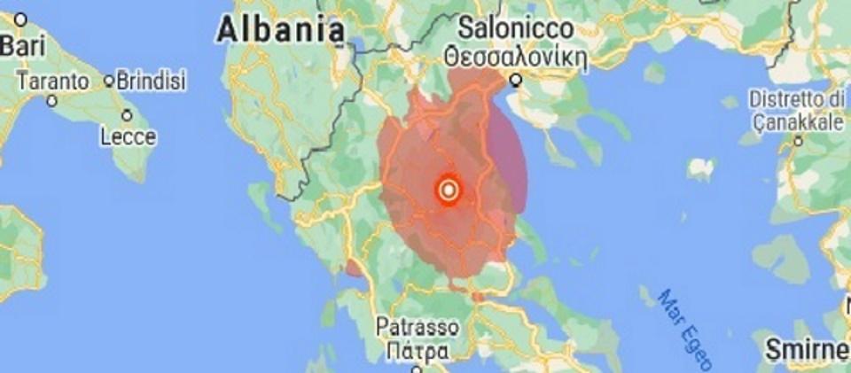 Grecia: altre due scosse di terremoto scuotono Larissa. Avvertito anche al sud Italia