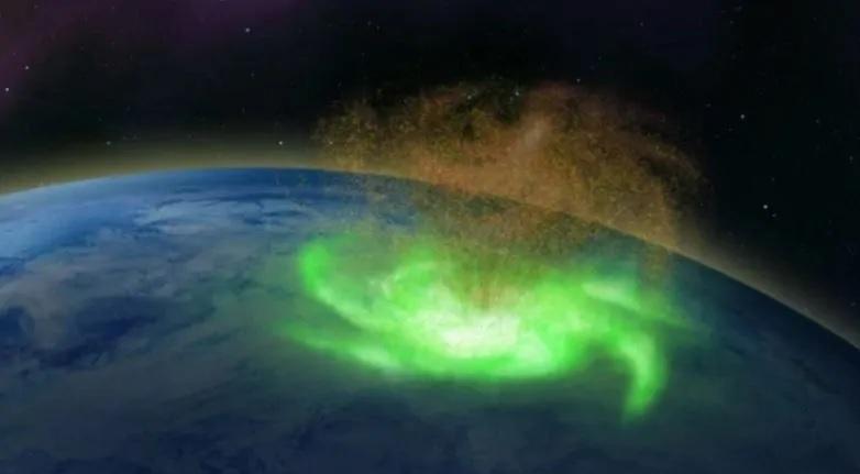 Osservato colossale 'uragano' di plasma sul Polo Nord