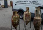 Eccezionale scoperta: trovate tre splendide anfore romane nelle acque di Mondello