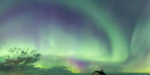 Espulsione massa coronale: registrati i primi effetti. Aurora in Canada e in Scandinavia