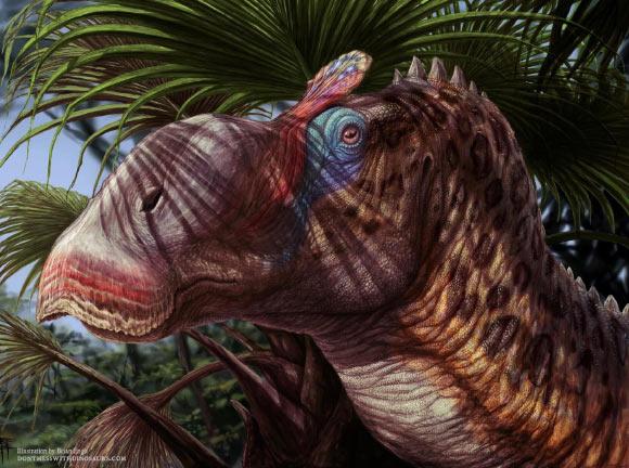 Nuovo Messico: scoperto dinosauro con il becco d'anatra e una lunga cresta