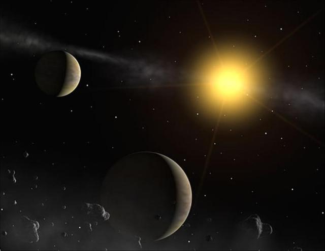 Gliese 710, la stella che si sta avvicinando al Sistema Solare