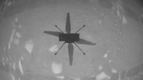 Ingenuity spicca il volo su Marte. È il primo volo ad elica su un altro pianeta