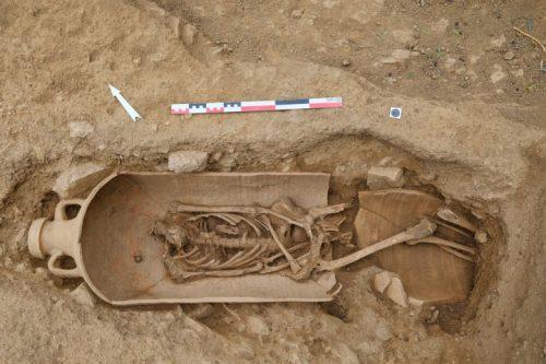 Corsica: una necropoli del III-IV secolo riscrivere la storia dall'isola