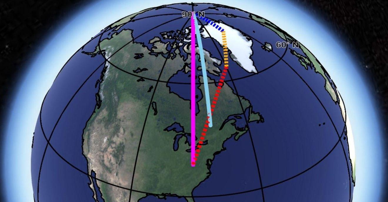 I poli della Terra si sono spostati di 4 metri in 40 anni: gli esperti spiegano le ragioni