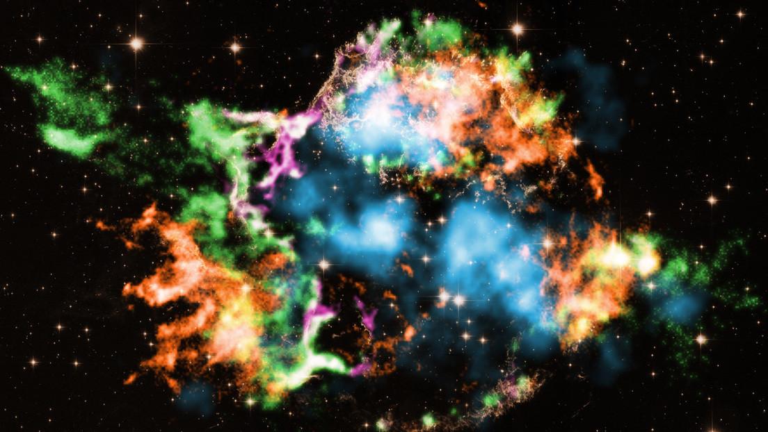 Spazio: scoperte tracce di titanio nella supernova  Cassiopea A
