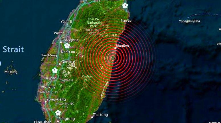 Terremoto Taiwan: due forti scosse e boati sulle coste orientali. Si temono danni ingenti