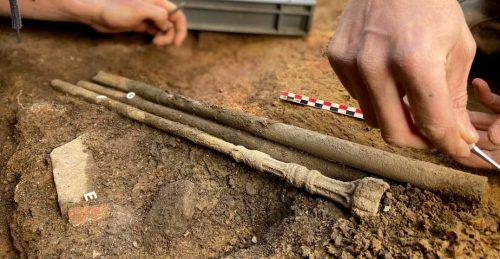 Francia: scoperta rarissima tromba di epoca romana