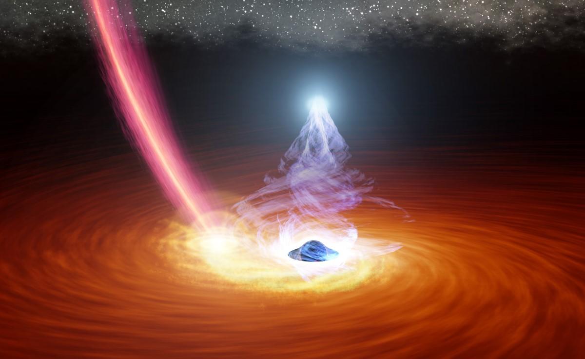 Spazio: si risvegliano due buchi neri giganti. La scoperta grazie a potenti missioni di raggi X