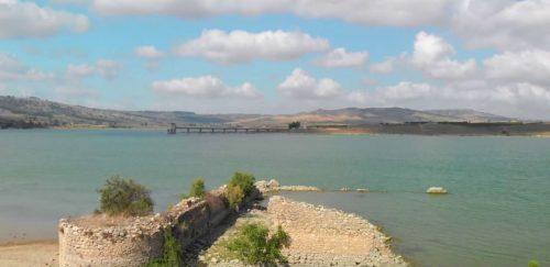 Si ritirano le acque del lago Arancio: riemerge l'antico sito di Mazzallakkar