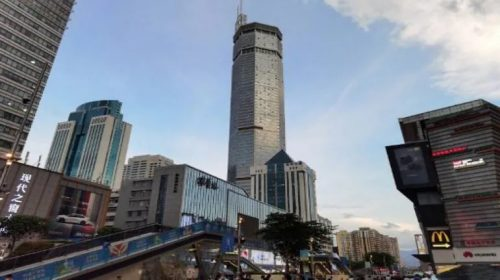 Cina: trema grattacielo SEG Plaza. Panico a Shenzen. Il video