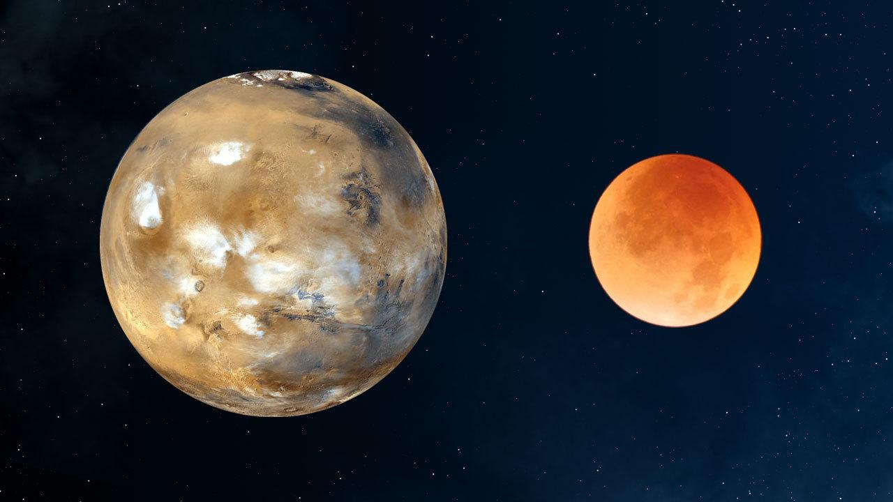 Spazio: anche Marte aveva una grande Luna. La scoperta