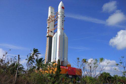 Lo stadio del razzo 'Lunga Marcia 5B' è in caduta libera verso la Terra