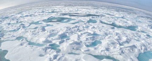 Artico:scoperte delle sacche di acqua più calda sotto la banchisa che accelerano lo scioglimento dei ghiacci