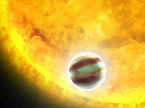 Una molecola 'terrestre' scoperta sul lontano pianeta WASP-33b