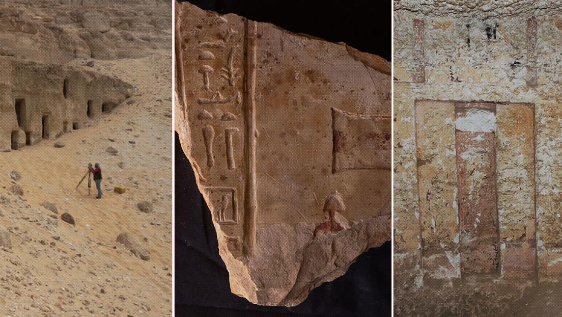 Egitto: oltre 250 tombe scoperta nelle profondità di una montagna