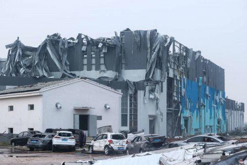 Cina: tornado investe Wuhan e Suzhou. Case distrutte, numerosi feriti e morti