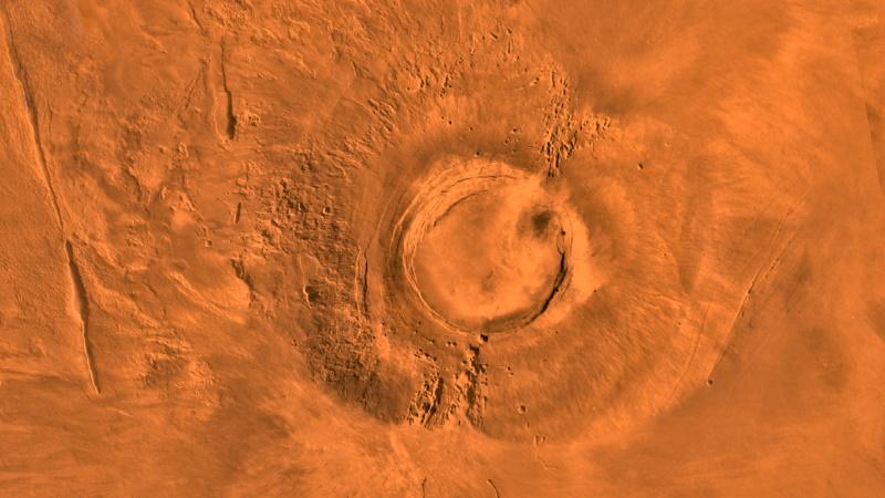 Marte: scoperto un vulcano attivo nel 'recente passato' nell'Elysium Planitia