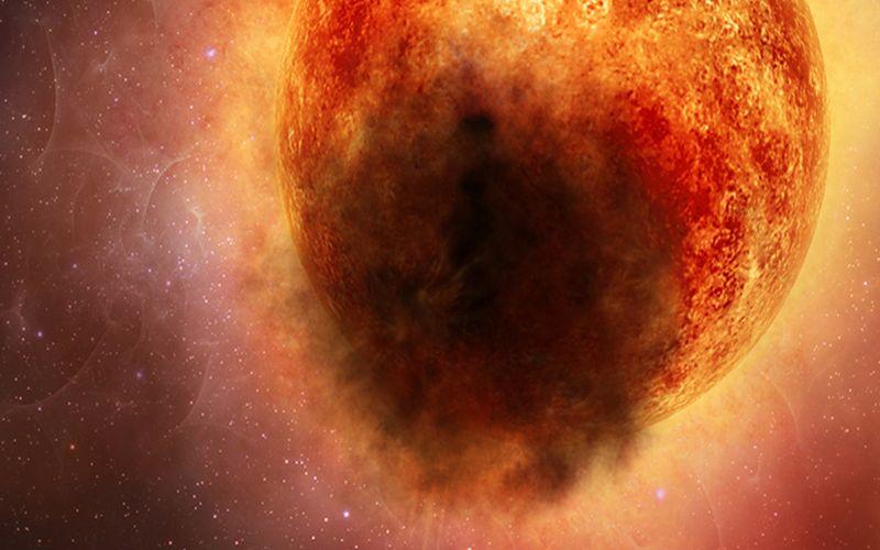 Spazio: una gigantesca nube di polvere ha oscurato la stella Betelgeuse. La scoperta