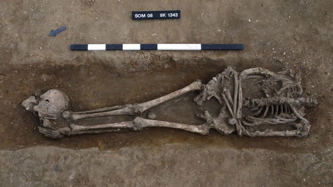 Inghilterra: un numero impressionante di corpi decapitati scoperti in un cimitero romano