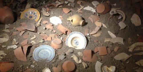 """Aperto per la prima volta al pubblico il """"butto"""" etrusco del borgo fantasma di Celleno"""
