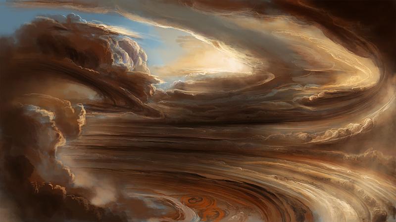Giove: acqua nelle nuvole del gigante gassoso. La scoperta
