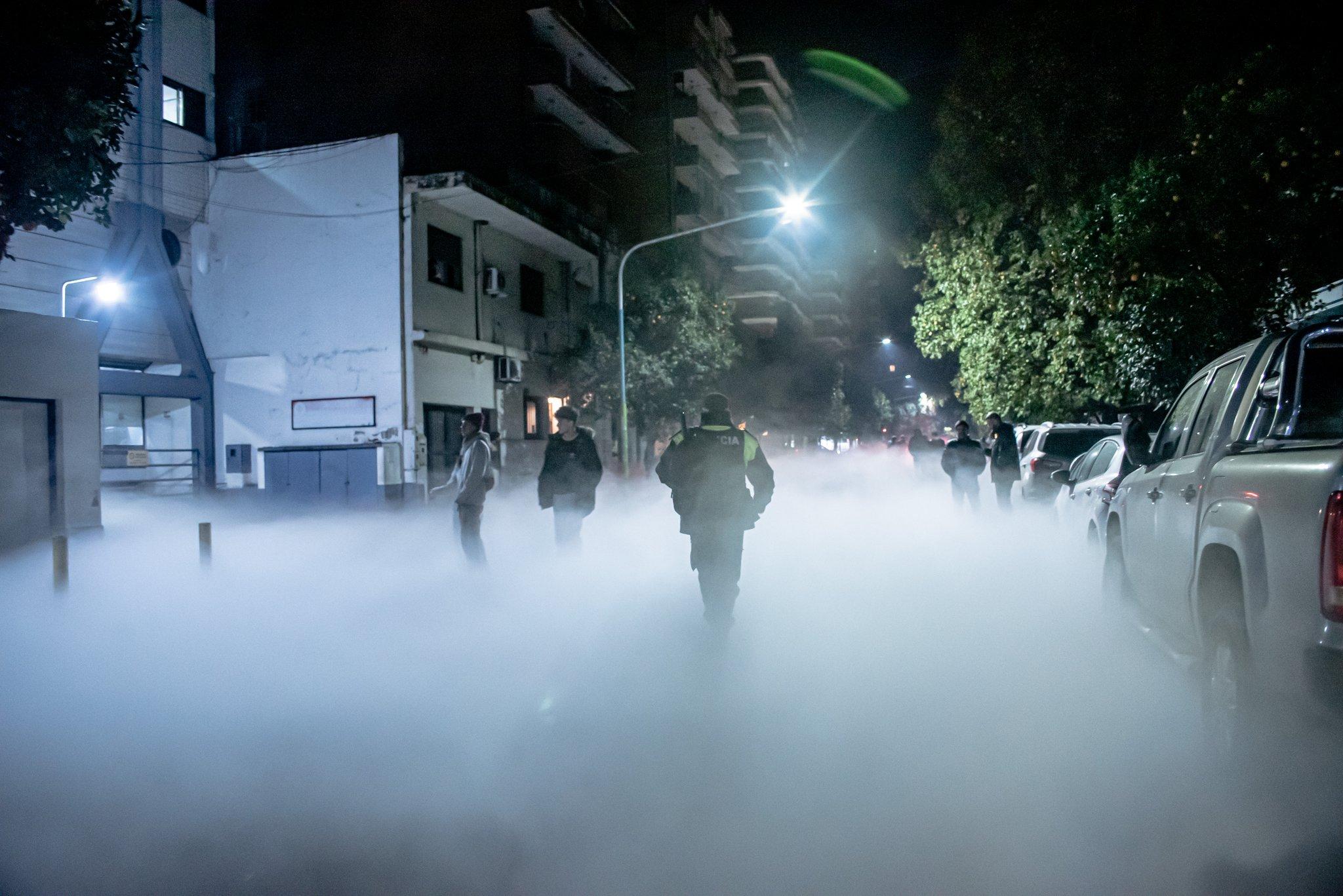 Argentina: la perdita di ossigeno da ospedale crea una nuvola bianca. Il video