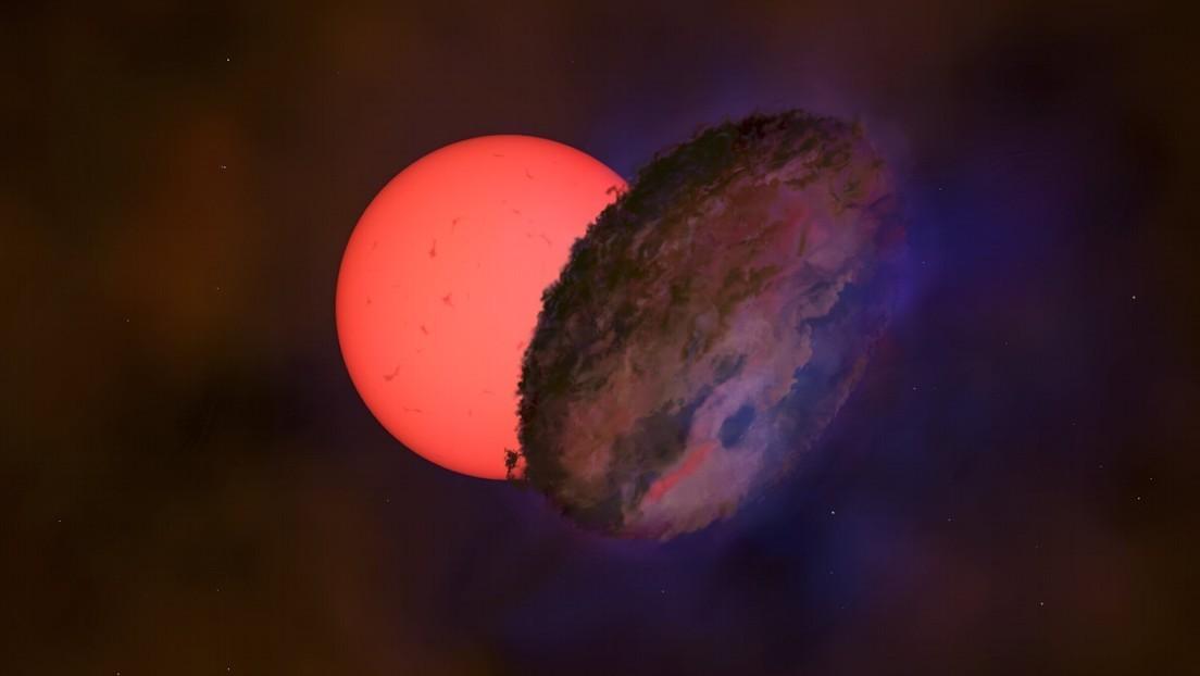 L'oscuramento di una stella gigante nel centro della nostra galassia sorprende gli scienziati