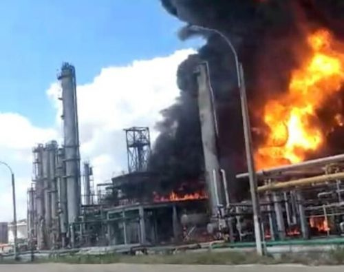 Romania: esplode la raffineria più grande del paese. Il video