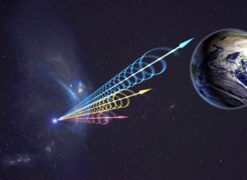 Spazio: un potente lampo radio veloce dalla nostra galassia. È il più vicino e potente mai registrato