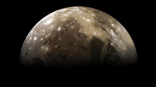 Ganimede: scoperto vapore acqueo nell'atmosfera della luna di Giove