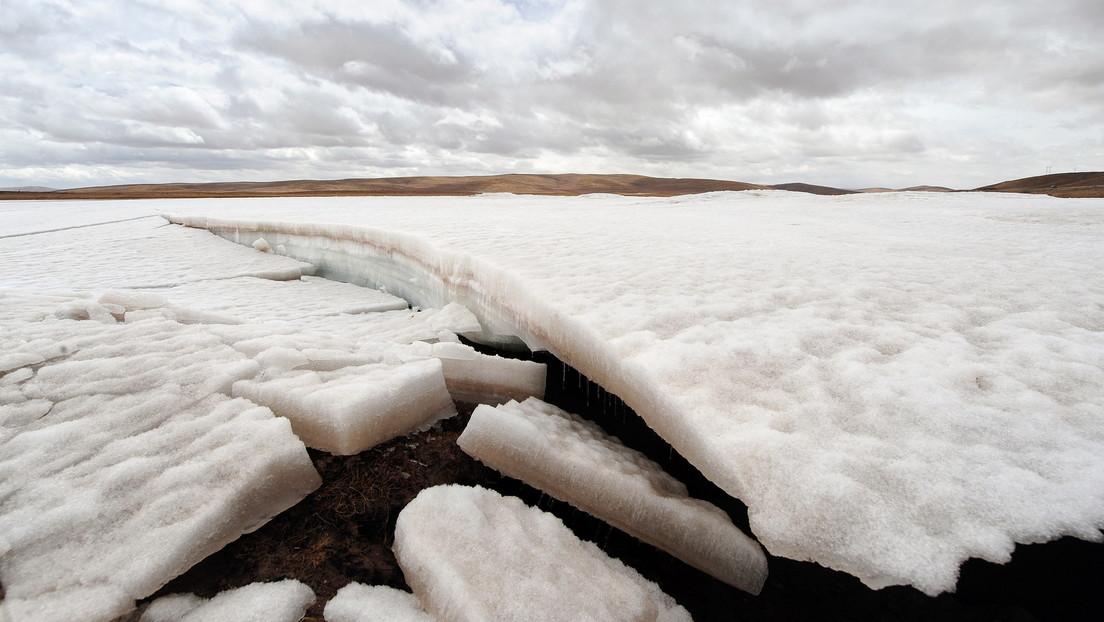 Cina: 28 virus risalenti a 15.000 anni portati alla luce da un ghiacciaio tibetano