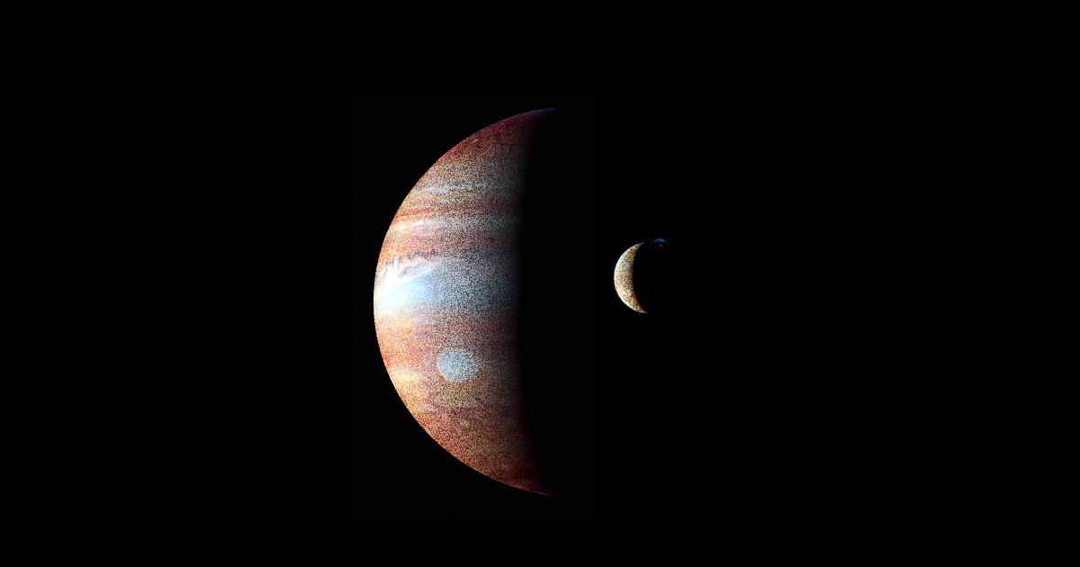 Una nuova luna di Giove scoperta da un astronomo dilettante