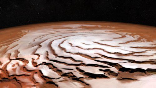 Laghi nelle profondità di Marte? Una ricerca smentisce la presenza di acqua al Polo Sud