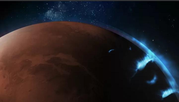 Marte: il rover degli Emirati cattura spettacolari aurore del pianeta rosso