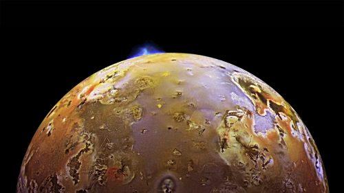 Giove: emissioni di onde radio registrate dal satellite Io