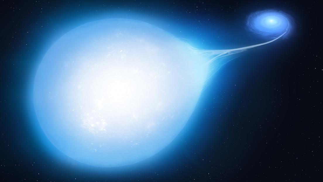 Spazio: scoperta una stella 'a forma di lacrima'. È destinata ad esplodere in una supernova