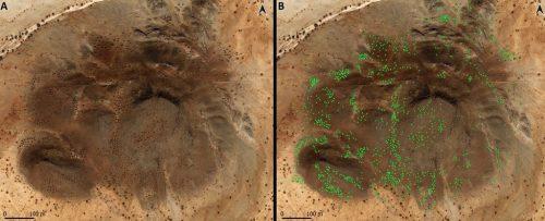 Sudan: scoperte migliaia di antiche tombe distribuite come le galassie
