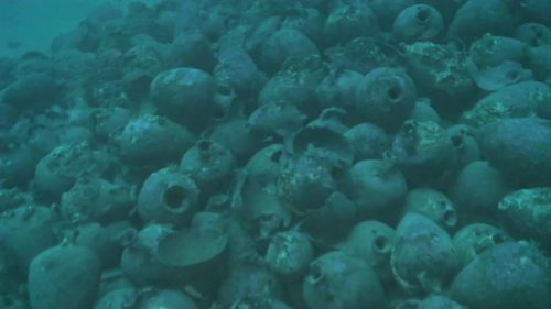 Eccezionale scoperta in Sicilia: rinvenuta nave romana con il suo carico di anfore