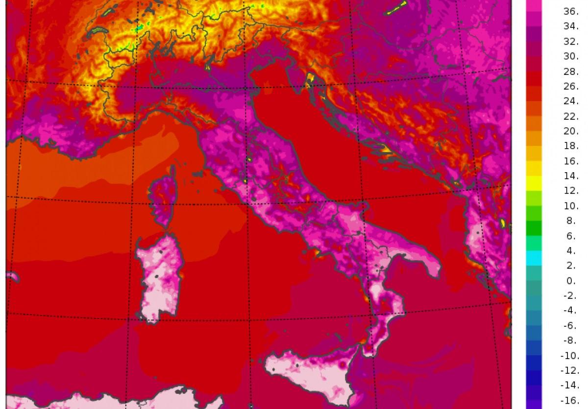 Clima: 48.8 gradi a Siracusa. È la temperatura più alta mai registrata in Europa