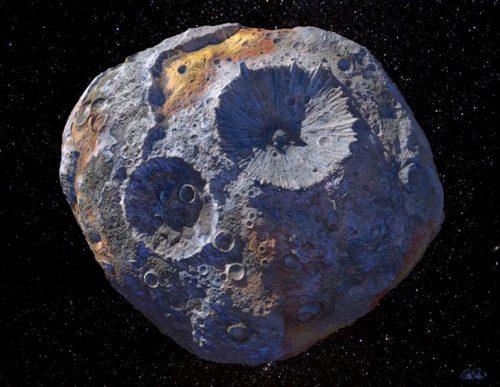 L'asteroide Psyche vale più dell'intera economia globale; i risultati della ricerca