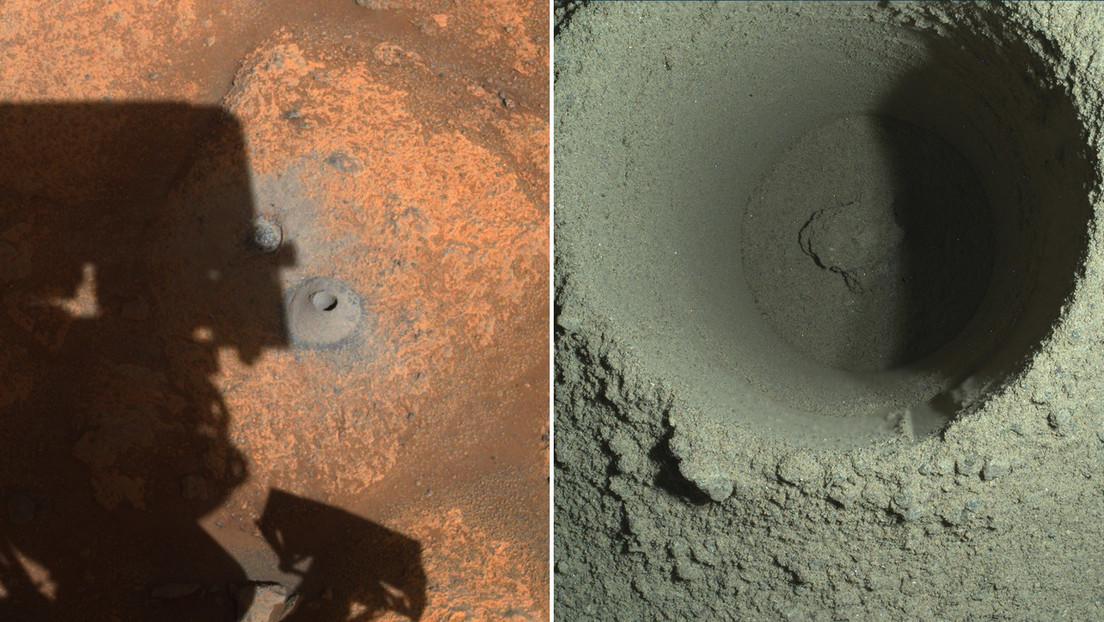 Marte: Perseverance fallisce nel primo tentativo di estrazione di una roccia marziana