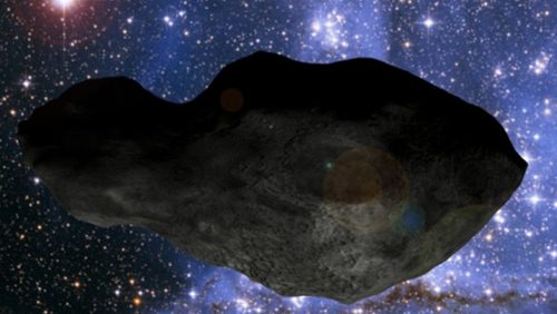 """Cleopatra: l'asteroide a forma di """"osso di cane"""" che ha creato le proprie lune"""