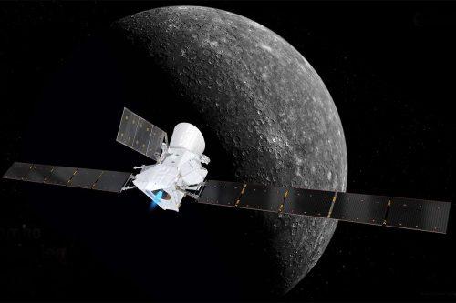 Mercurio: la sonda BepiColombo si prepara al primo avvicinamento