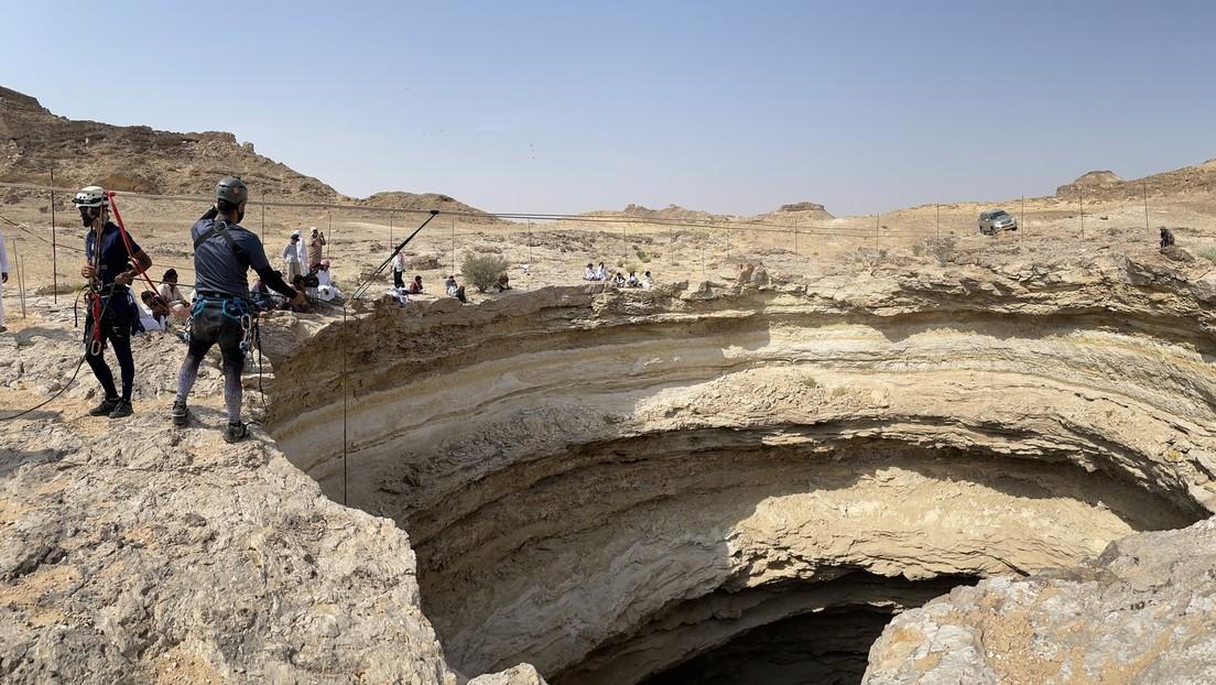 Yemen: un team di esperti si è calato sul fondo della 'Fossa infernale'. 'È la prima volta'