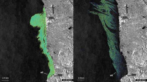 Ambiente: una chiazza di 800 chilometri quadrati di petrolio nel Mediterraneo