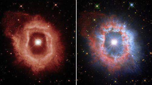 Spazio: Hubble immortala AG Carinae, una gigantesca stella 'morente'